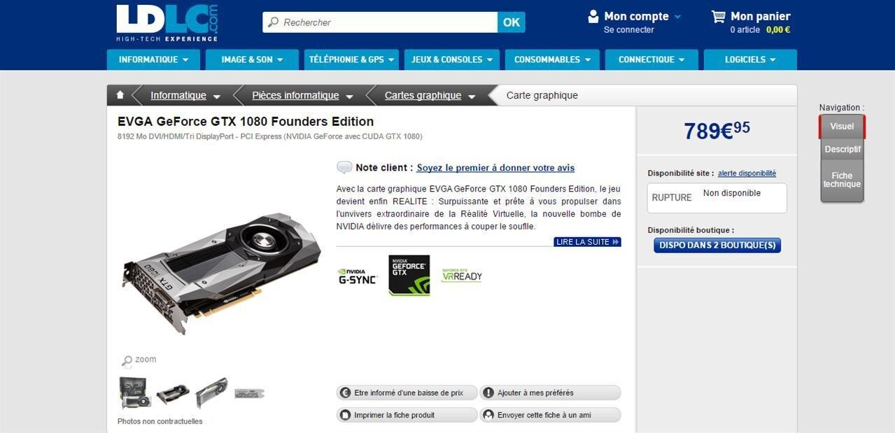 Les GeForce GTX 1080 sont « disponibles » : NVIDIA a peu de cartes, mais a des idées