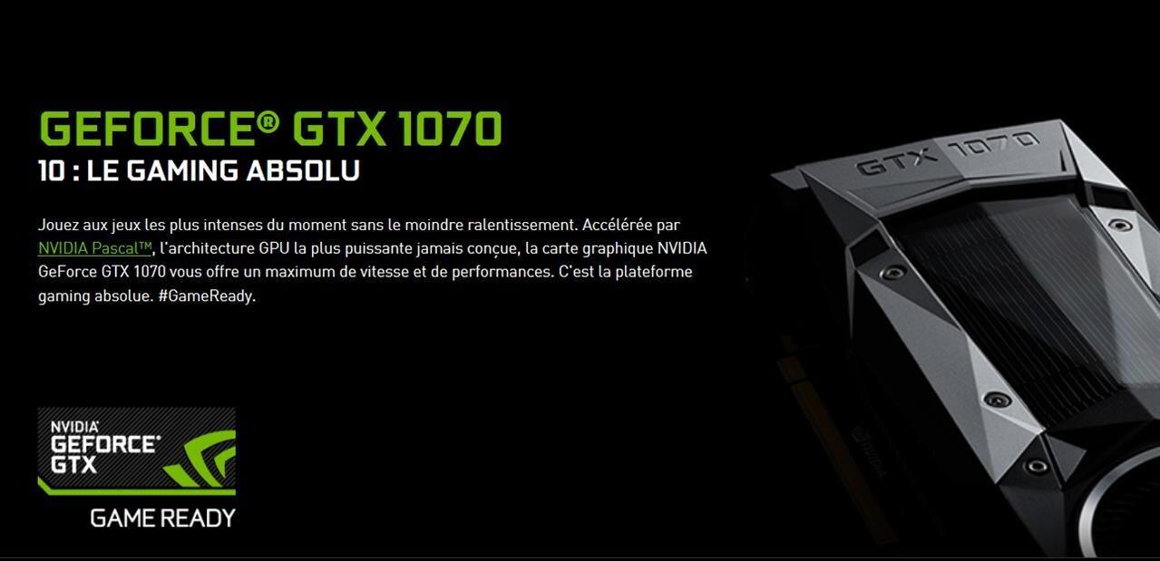 GeForce GTX 1070 : les tests sont en ligne, la carte sera mise en vente le 10 juin