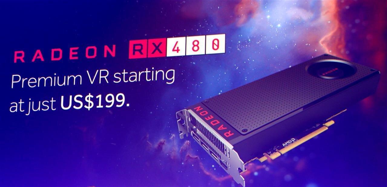 Radeon RX480 : le modèle de référence mis en vente à 259 euros