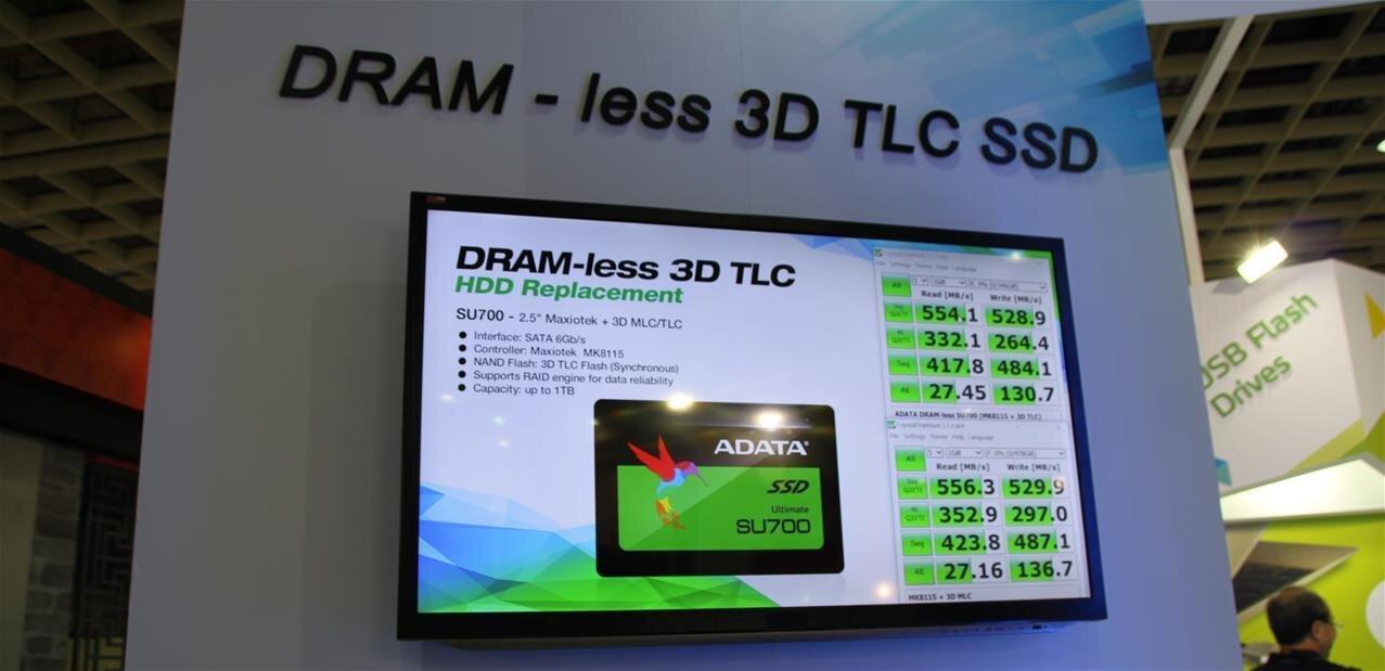 Adata fait le plein de nouveaux SSD : S-ATA, M.2, U.2 et NVMe