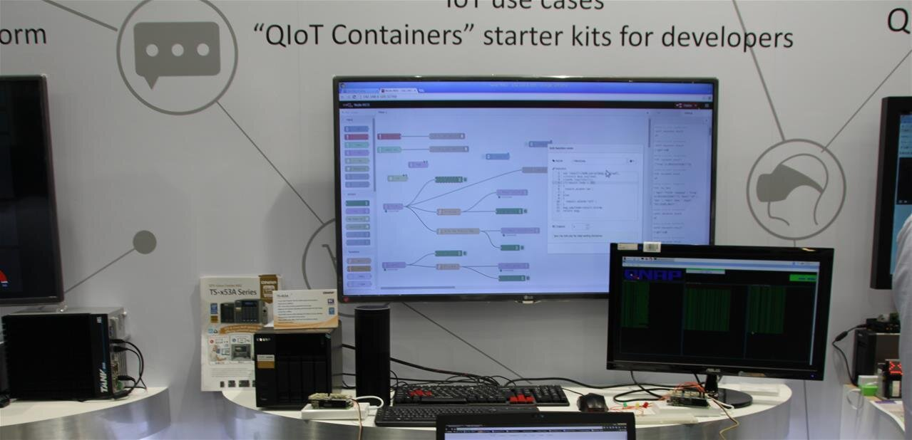 QNAP tire dans tous les sens : NAS Thunderbolt 2, parés pour l'IoT et... la réalité virtuelle