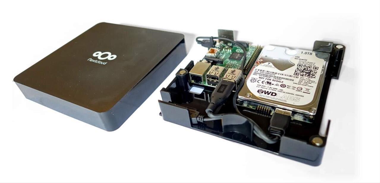 NextCloud lance sa Box avec Snappy Ubuntu Coreet 1 To de stockage, pour 70 €