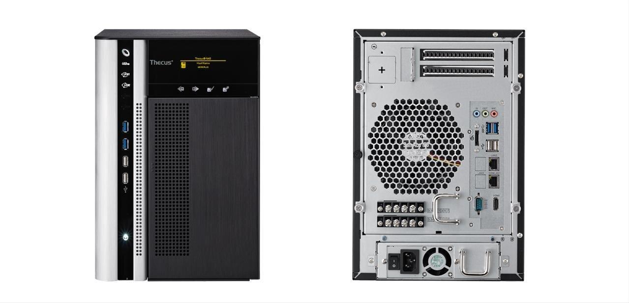 N6850Plus : Thecus renouvelle son NAS à six baies avec un Xeon E3-1225 (Sandy Bridge)