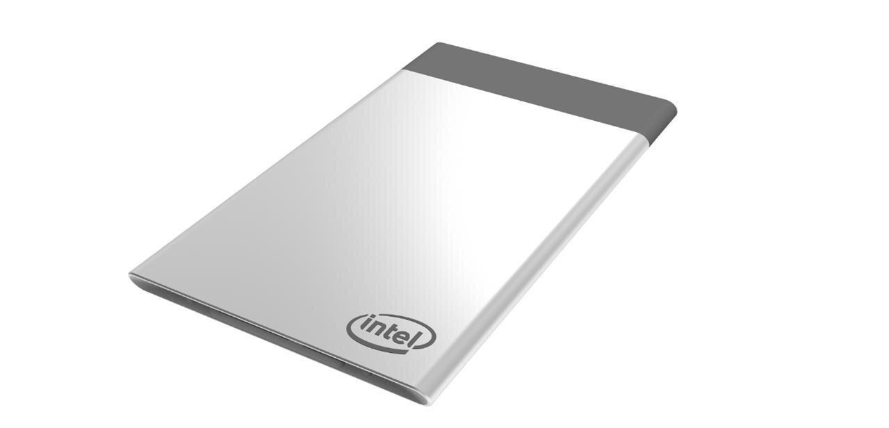 Intel dévoile sa Compute Card, un PC avec processeur Kaby Lake au format carte de crédit