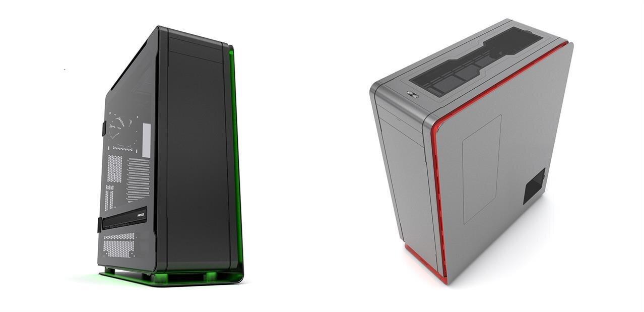 Phanteks Enthoo Elite : un écrin de verre et d'aluminium pour 2 PC, à 899,90 euros