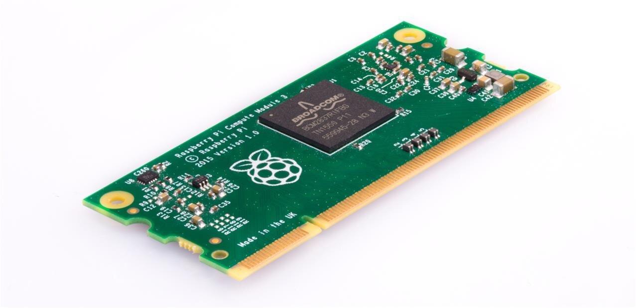Raspberry Pi : le Compute Module 3 est enfin disponible, avec une version Lite