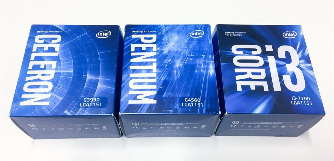 Intel Celeron G3930, Pentium G4560 ou Core i3-7100 : quel sauveteur pour Kaby Lake ?