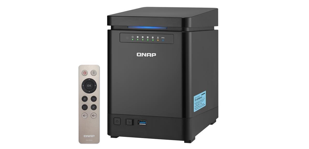QNAP dévoile son NAS TS-453Bmini, avec 4K UHD et chiffrement matériel